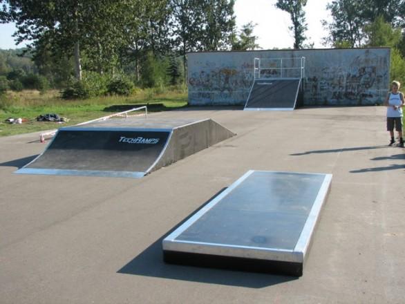 Skatepark w Okonku