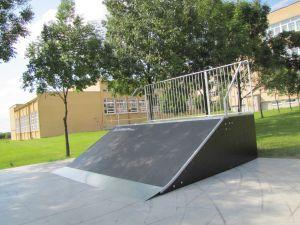 Skatepark w Opolu Lubelskim Bank Ramp