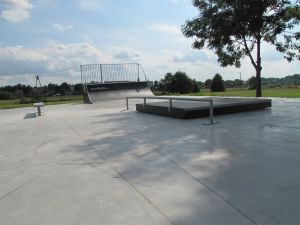 Skatepark w Opolu Lubelskim Panorama