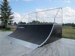 Skatepark w Opolu Lubelskim Quartar Pipe