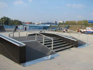 Skatepark w Ostrowie Wielkopolskim 1