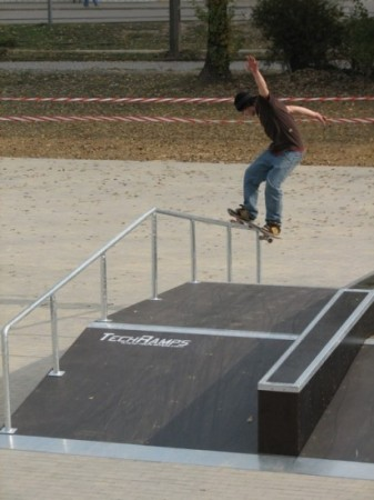 Skatepark w Ostrowie Wielkopolskim 11