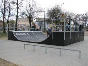 Skatepark w Ostrowie Wielkopolskim 15