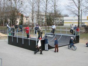 Skatepark w Ostrowie Wielkopolskim 17