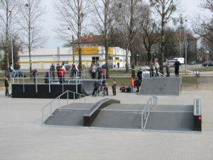 Skatepark w Ostrowie Wielkopolskim 21