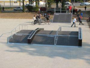 Skatepark w Ostrowie Wielkopolskim 4