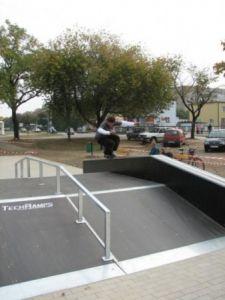 Skatepark w Ostrowie Wielkopolskim 6