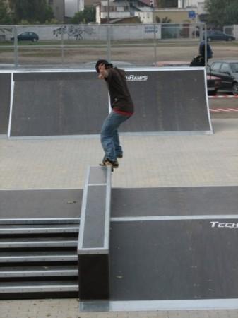 Skatepark w Ostrowie Wielkopolskim 7