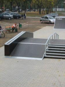 Skatepark w Ostrowie Wielkopolskim 8