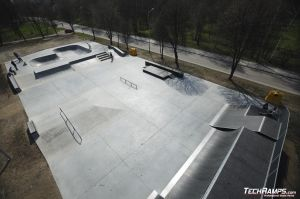 Skatepark w Oświęcimiu - 11