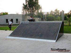 Skatepark w Otwocku - 2 etap - 1