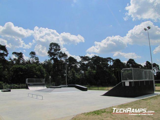 Skatepark w Piaskach