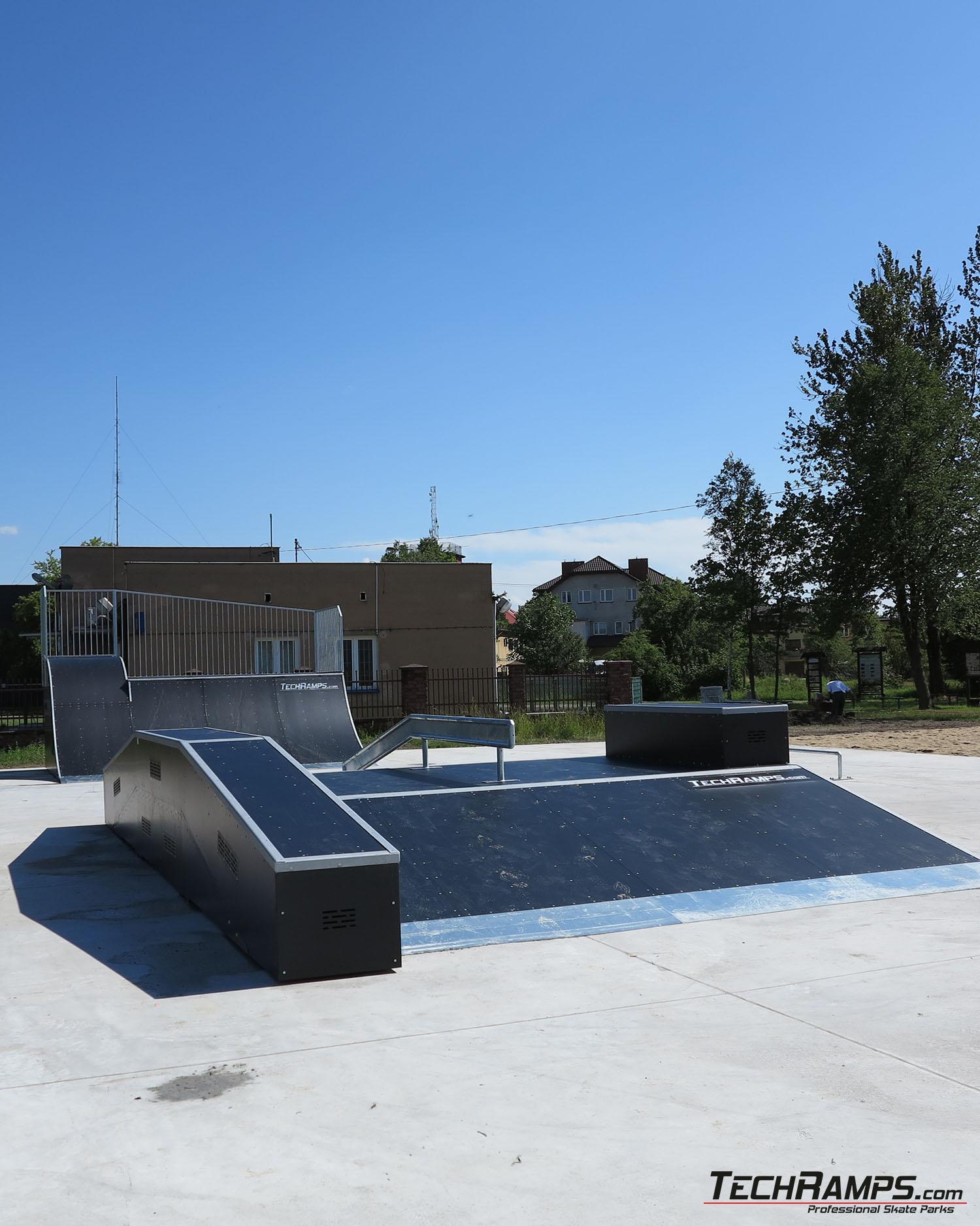 Skatepark w Pilawie