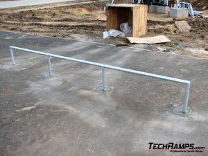 Skatepark w Pile - Rurka