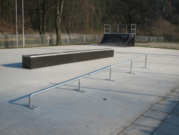Skatepark w Piwnicznej Zdroju