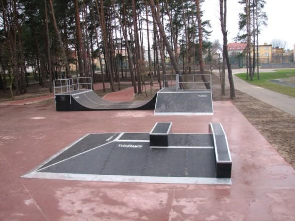 Skatepark w Pobierowie