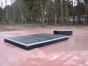 Skatepark w Pobierowie - grindbox