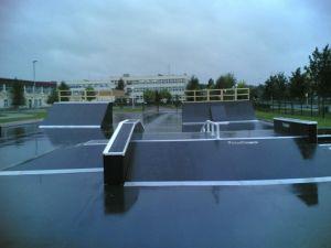 Skatepark w Policach