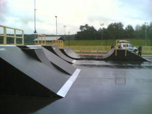 Skatepark w Policach 2