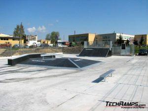 Skatepark w Poniatowej