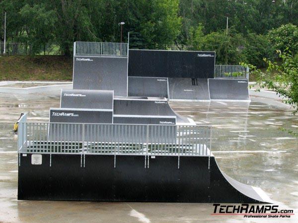 Skatepark w Poznaniu - Wyspa
