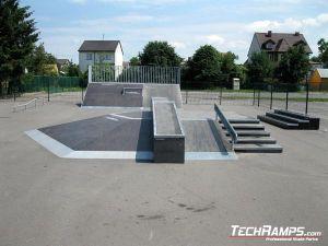 Skatepark w Przasnyszu rozbudowa
