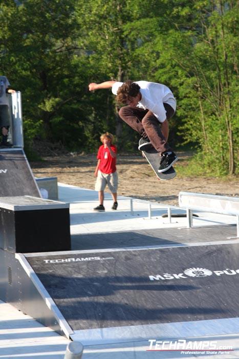 Skatepark w Puchov - 13