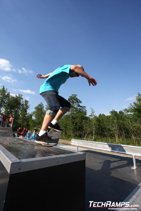 Skatepark w Puchov - 17