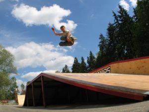 Skatepark w Rabce 1