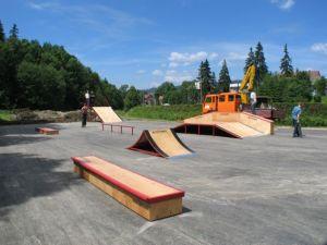 Skatepark w Rabce 3