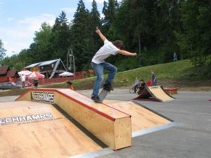 Skatepark w Rabce 5