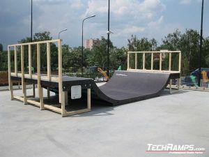 Skatepark w Radomiu minirampa