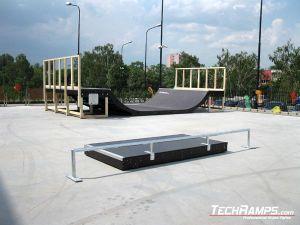 Skatepark w Radomiu poręcz