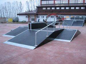 Skatepark w Rewalu 3