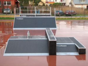 Skatepark w Rewalu 5