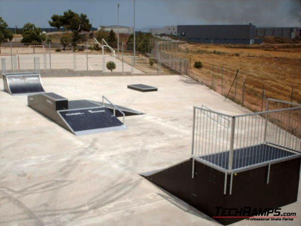 Skatepark w Santpedor - Hiszpania