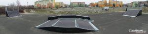 Skatepark w Sieradzu - rozbudowa