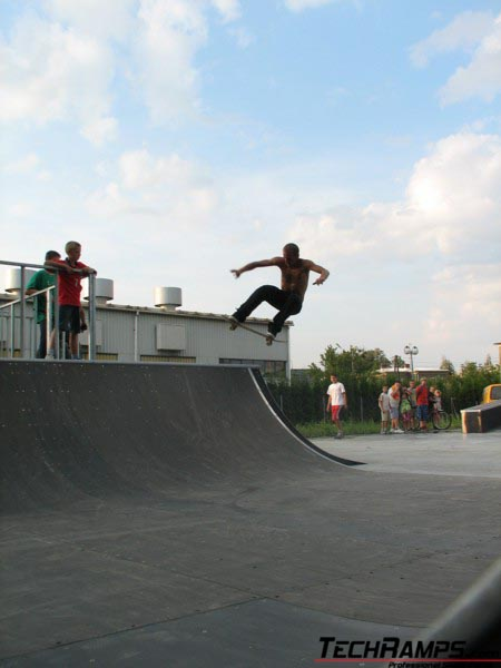 Skatepark w Skoczowie