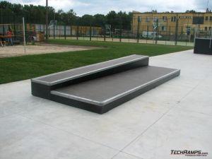 Skatepark w Skwierzynie - grindbox