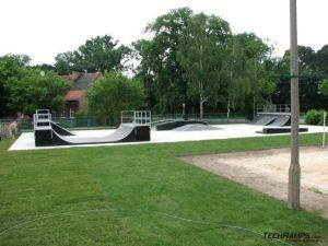 Skatepark w Skwierzynie - panorama