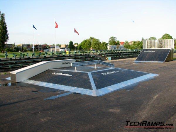 Skatepark w Sławie