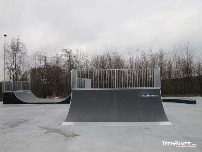 Skatepark w Ślesinie