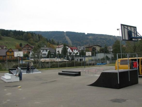 Skatepark w Szczyrku