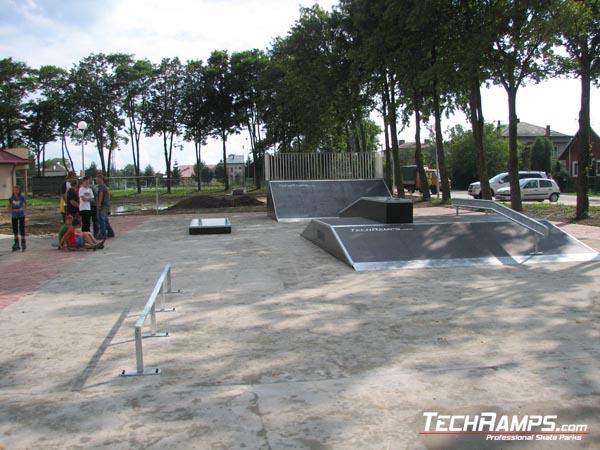 Skatepark w Szówsku
