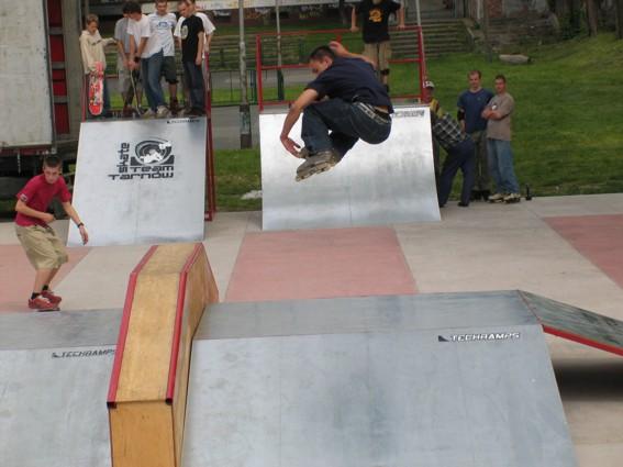 Skatepark w Tarnowie