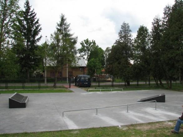 Skatepark w Tłuszczu