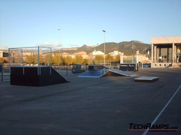 Skatepark w Tremp - Hiszpania