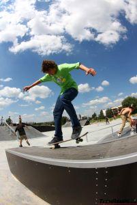 Skatepark w Tychach - raiderzy - 1
