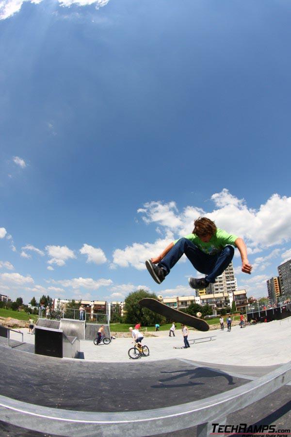 Skatepark w Tychach - raiderzy - 3