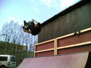 Skatepark w Ustce 1